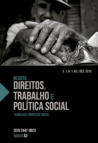 REVISTA DIREITOS, TRABALHO E POLÍTICA SOCIAL